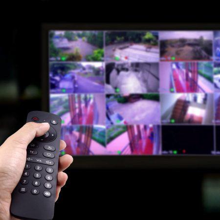 Panikraum CCTV Videoüberwachung